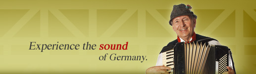 Experience the sound of Germany.